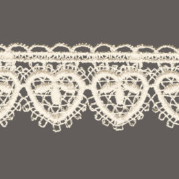 кружево для штор, скатертей салфеток цвета: белый и беж ширина 3,5см