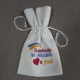 Мешочки сувенирные «Somebody loves you»