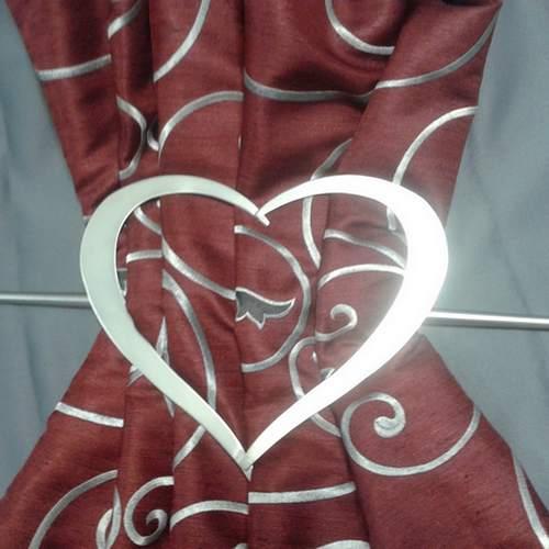 Декоративная заколка для штор. Ширина 17,5см. Цвета: золото матовое и сатин